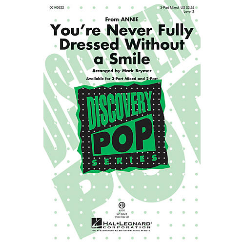 Hal Leonard You're Never Fully Dressed Without a Smile (from Annie Discovery Level 2) VoiceTrax CD by Mark Brymer