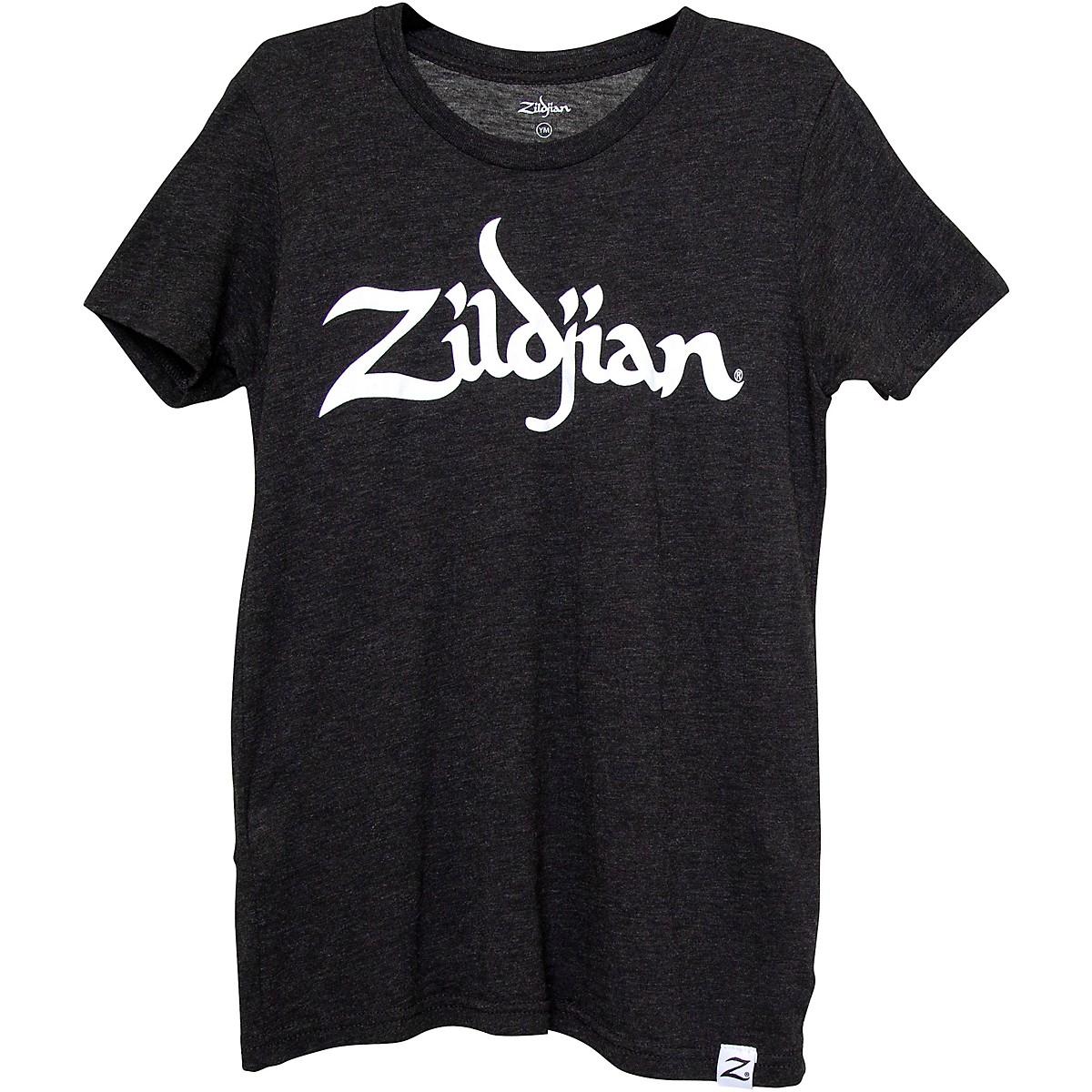 Zildjian Youth Logo T-Shirt, Charcoal