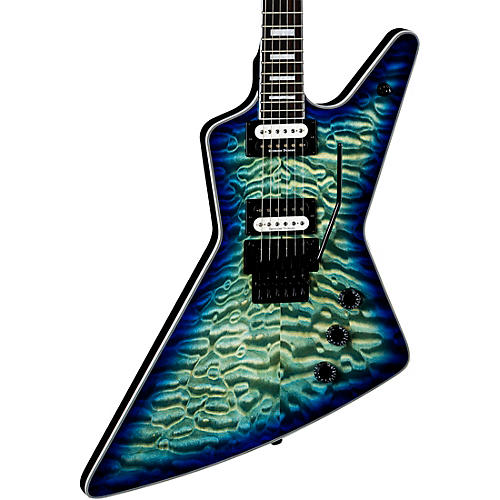 Dean Z Select Quilt Top with Floyd Electric Guitar