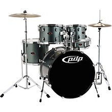 Z5 5-Piece Drum Set Gray Metal