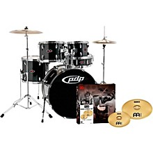 Z5 5-Piece Drumset with Meinl Cymbals Carbon Black
