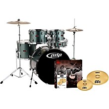 Z5 5-Piece Drumset with Meinl Cymbals Gray Metal