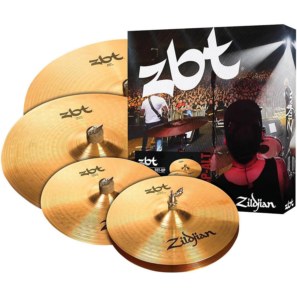 Zildjian ZBT Pro Cymbal Set With Free 14