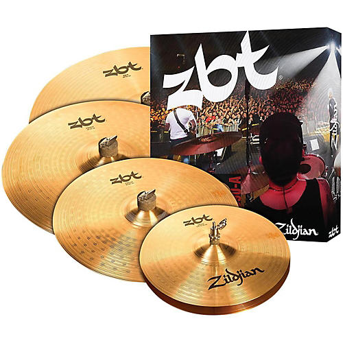 Zildjian ZBTP390-A Cymbal Set with free 18
