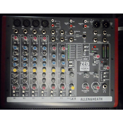 Allen & Heath ZED 10FX Powered Mixer