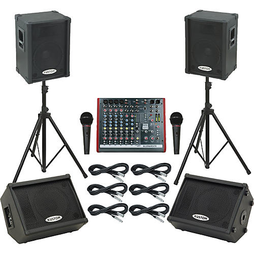 Allen & Heath ZED10FX / KPC12P Mains & Monitors Package