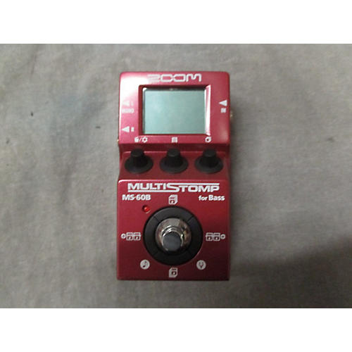 Zoom ZMS60B Multistomp Bass Bass Effect Pedal