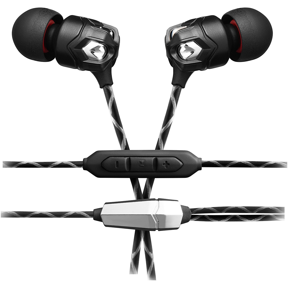 V-MODA ZN In-Ear Headphones With 3 Button Remote