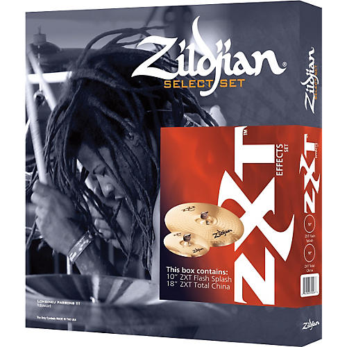 Zildjian ZXT 2-Piece Effects Cymbal Box Set
