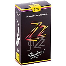 Vandoren ZZ Alto Saxophone Reeds Strength - 3.5, Box of 10