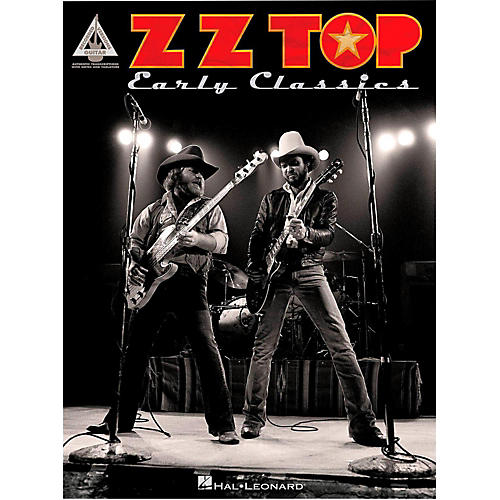 Hal Leonard ZZ Top Early Classics Guitar Tab Songbook