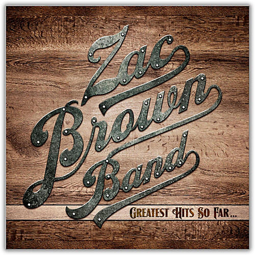WEA Zac Brown Band - Greatest Hits So Far Vinyl LP