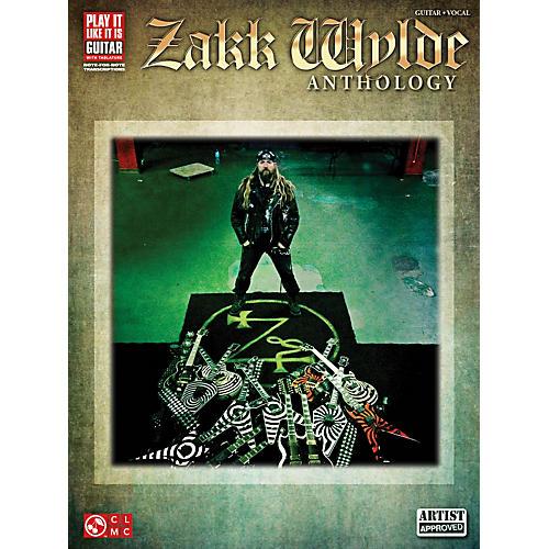 Cherry Lane Zakk Wylde Anthology Guitar Tab Songbook