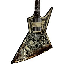 "Dean Zero Dave Mustaine ""In Deth We Trust"" Electric Guitar"