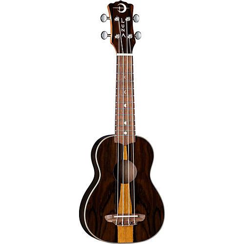 Luna Guitars Ziricote Wood Soprano Ukulele