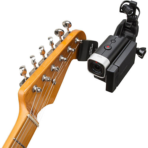 Zoom Zoom GHM-1 Guitar Headstock Mount for Action Cameras