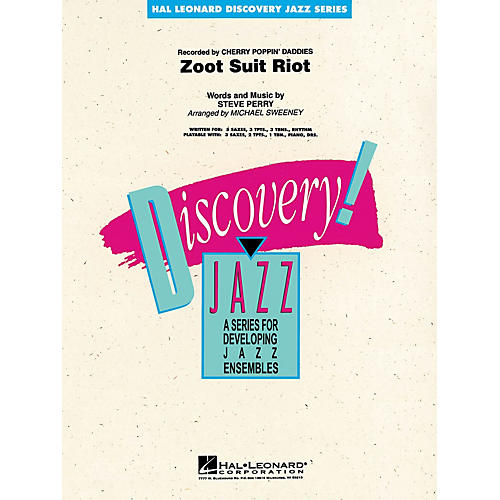 Hal Leonard Zoot Suit Riot Jazz Band Level 1-2 Arranged by Michael Sweeney