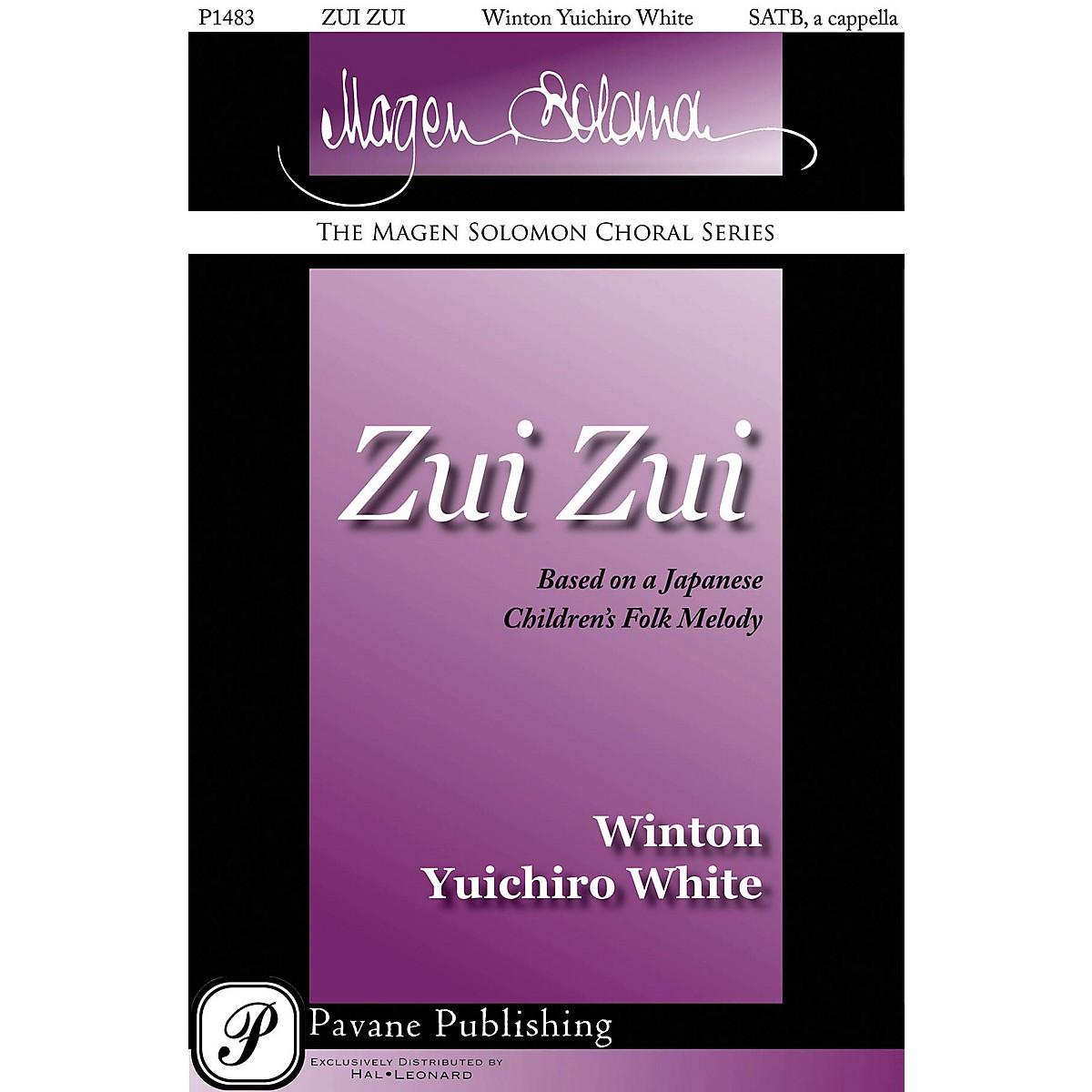 Pavane Zui Zui SATB a cappella arranged by Winton Yuichiro White