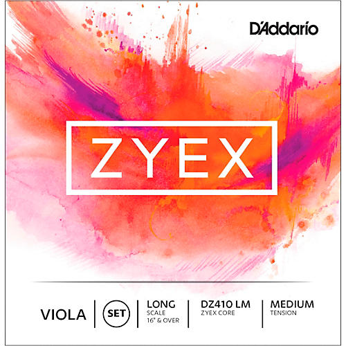 D'Addario Zyex Series Viola String Set