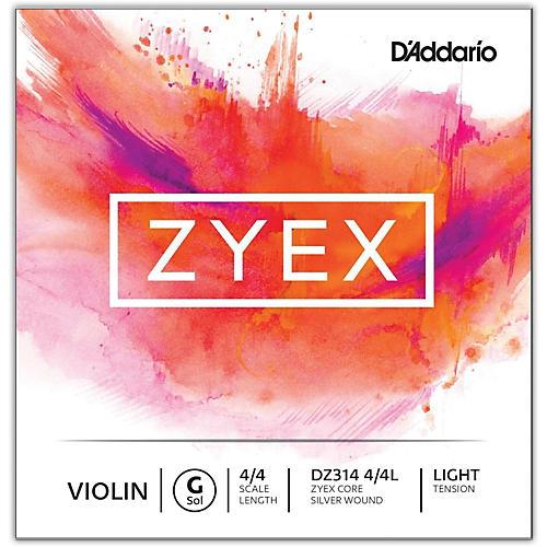 D'Addario Zyex Series Violin G String