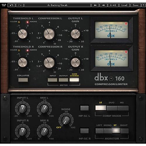 Waves dbx 160 Compressor / Limiter Native/SG Software Download