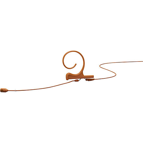DPA Microphones d:fine FID88 Directional Headset Microphone—Single Ear, 100mm Boom, Microdot Connector, Brown