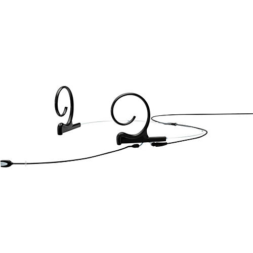 DPA Microphones d:fine FIO Slim Omnidirectional Headset Microphone—Dual Ear, 90mm Boom, Microdot Connector, Black