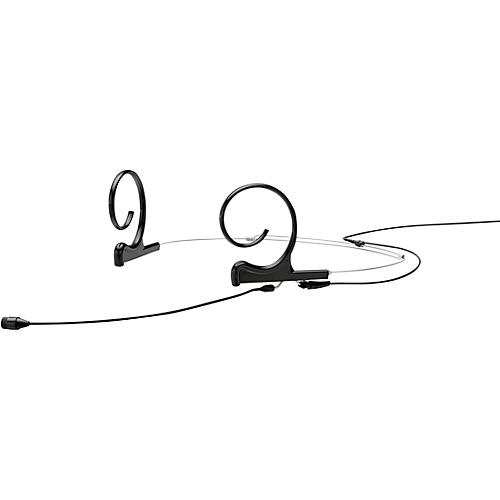 DPA Microphones d:fine FIO66 Omnidirectional Headset Microphone—Dual Ear, 90mm Boom, Hardwired 3Pin Lemo, Black