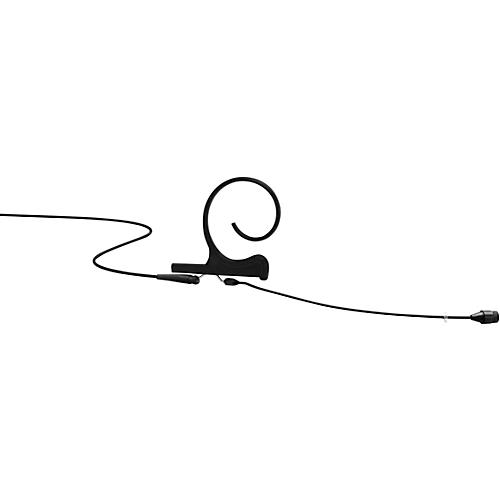 DPA Microphones d:fine FIO66 Omnidirectional Headset Microphone—Single Ear, 110mm Boom, Hardwired 3.5mm Mini Jack, Black