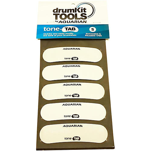 Aquarian drumKit Tools T-Tab Drum Head Tone Modifier