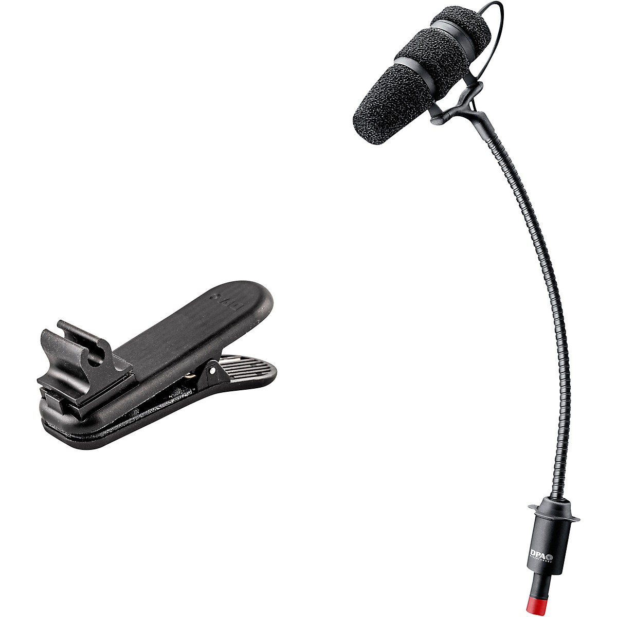 DPA Microphones d:vote CORE 4099 Mic, Loud SPL with Clamp Mount