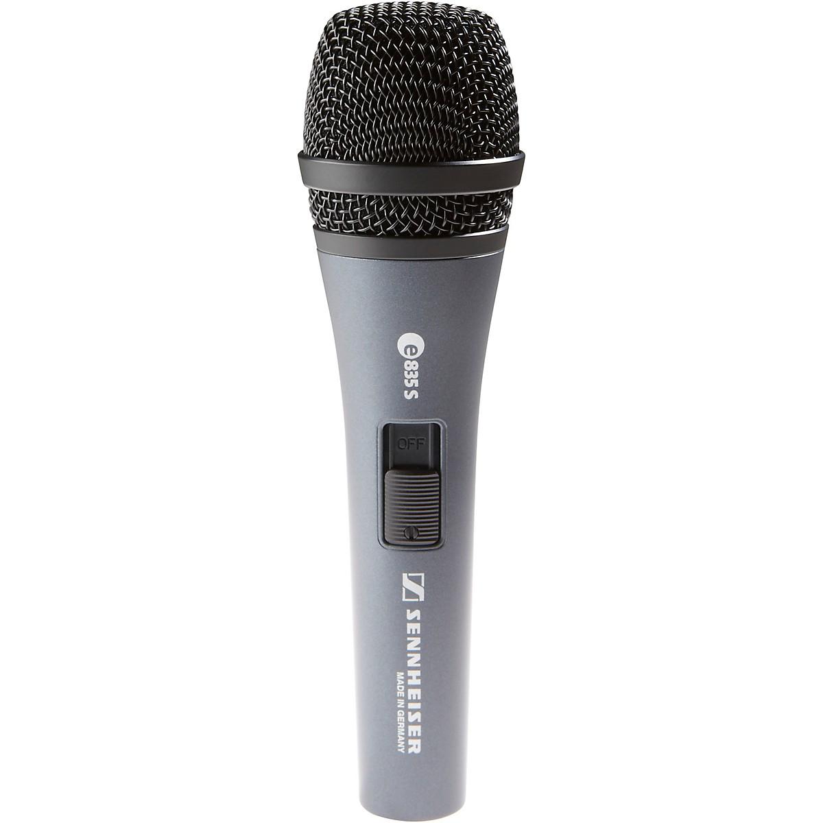 Sennheiser e 835-S Performance Vocal Microphone