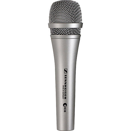 sennheiser e 838 dynamic microphone guitar center. Black Bedroom Furniture Sets. Home Design Ideas
