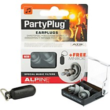 Alpine Hearing Protection (ea) Single-filter Universal Earplugs (Gray)