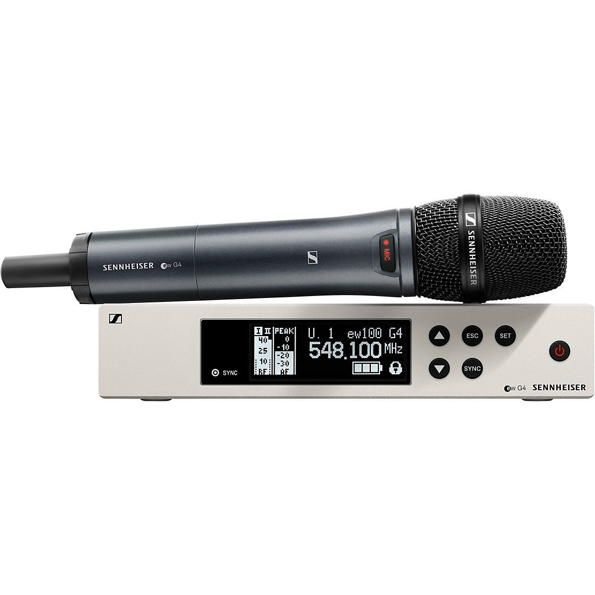 Sennheiser ew 100 G4 Handheld Wireless System with e 845 Capsule