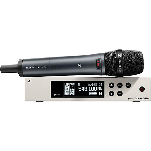 Sennheiser ew 100 G4 Handheld Wireless System with e 945 Capsule