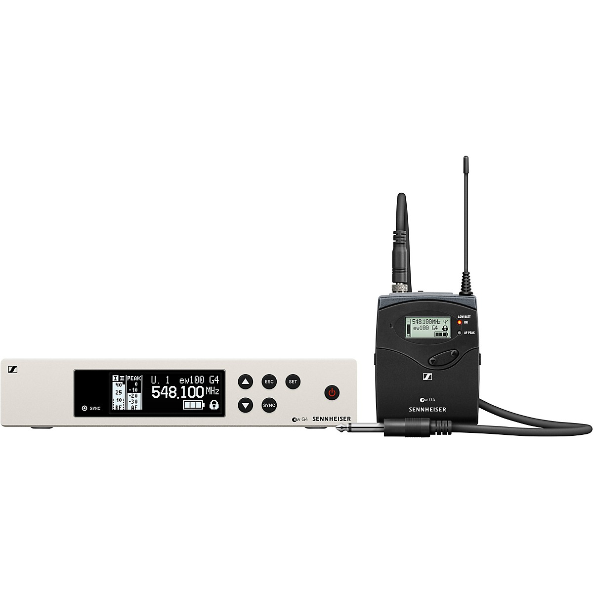 Sennheiser ew 100 G4 Instrument Wireless System with Ci1 Instrument Cable