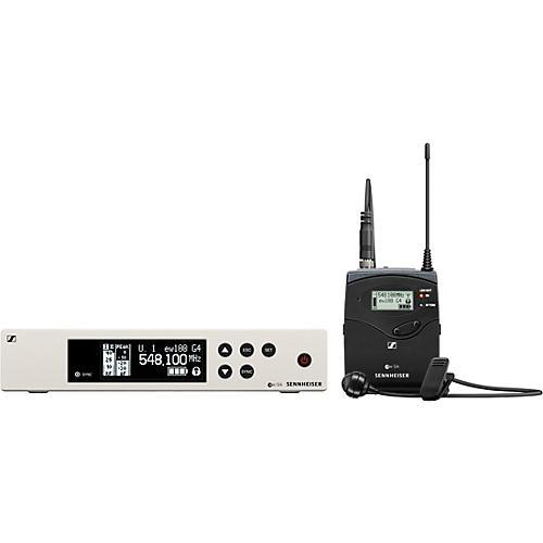 Sennheiser ew 100 G4 Lavalier Wireless System with ME4 Cardioid Lavalier Microphone