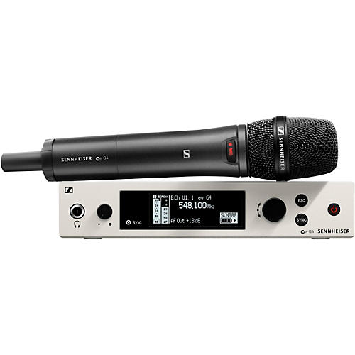 Sennheiser ew 300 G4 Handheld Wireless System with e 865-S Capsule
