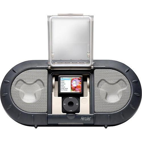 hercules dj i xps120 outdoor speaker system for ipod guitar center. Black Bedroom Furniture Sets. Home Design Ideas