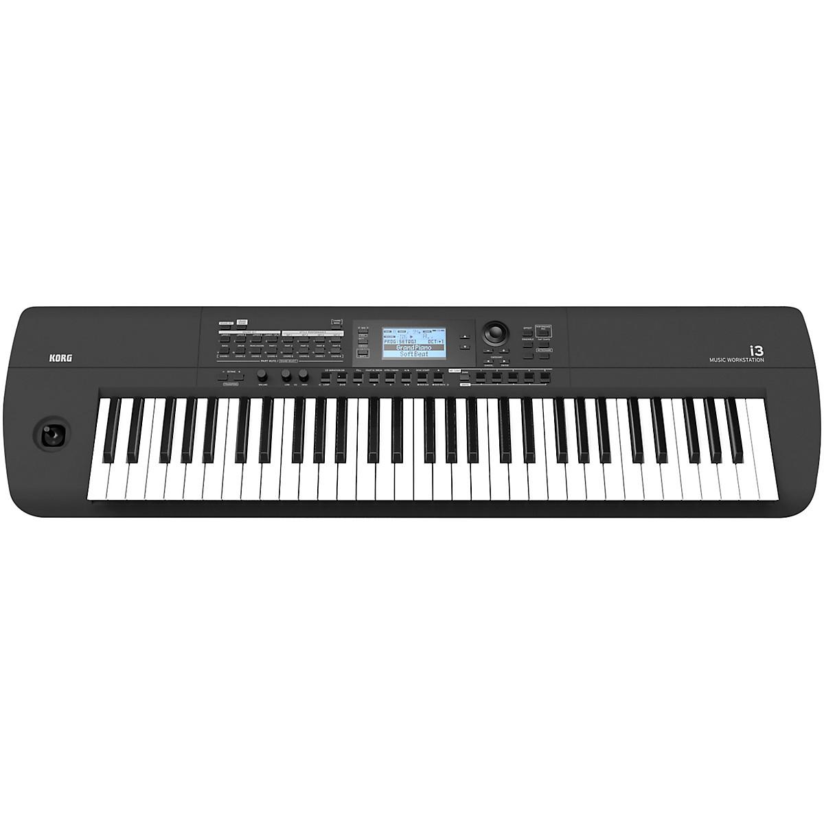 Korg i3 66-Key Music Workstation