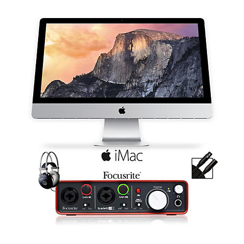 Apple iMac 21.5 In 2.7GHz Quad-core 2x4GB 1TB Bundle 1