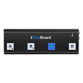 IK Multimedia iRig BlueBoard Bluetooth Wireless MIDI Footcontroller for iOS  and Mac