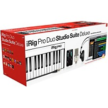 IK Multimedia iRig Pro Duo Studio Suite Deluxe Level 1