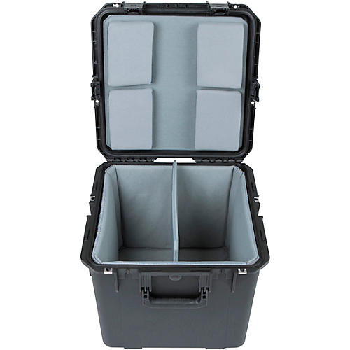 SKB iSeries Dual Snare Case with Padded Interior (3i-1717-16LT)