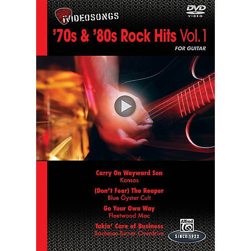 Alfred iVideosongs '70s & '80s Rock Hits Vol. 1 DVD