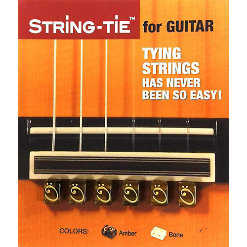 String-tie in Tiger Brown