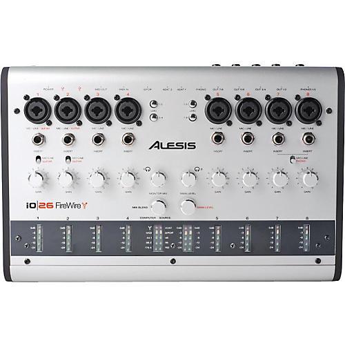 Alesis io 26 Audio MIDI 24-bit 192kHz FireWire Interface