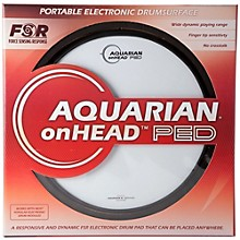 Aquarian onHEAD Portable Electronic Drumsurface Bundle Pak Level 1 12 in.
