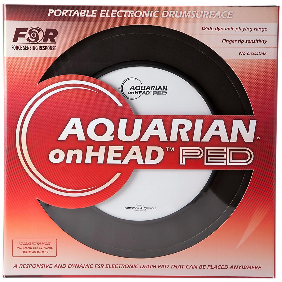 Aquarian onHEAD Portable Electronic Drumsurface Bundle Pak